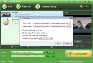 Enlarge MKV Converter Studio Screenshot