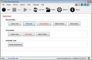 Enlarge Screen Recording Suite Screenshot