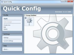 Enlarge Quick Config Screenshot