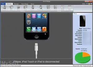 Enlarge iDevice Manager Screenshot