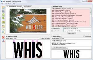 Enlarge Find my Font Free Screenshot