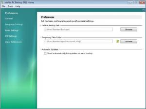 Enlarge zebNet PC Backup Pro Screenshot