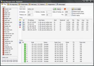 Enlarge Ping Manager Screenshot