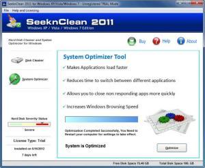 Enlarge SeeknClean Screenshot