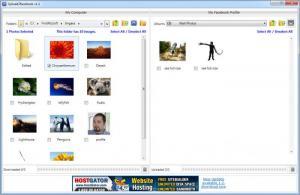 Enlarge Upload2Facebook Screenshot