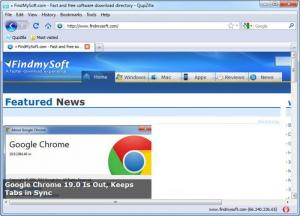Enlarge QupZilla Screenshot