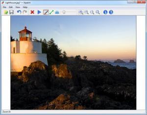 Enlarge Inpaint Screenshot