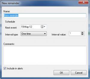 Enlarge Visual Reminder Screenshot