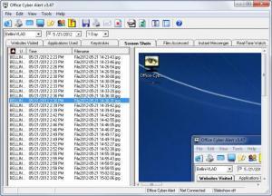 Enlarge Office Cyber Alert Screenshot