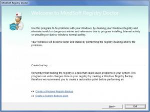 Enlarge MindSoft Clean Up & Repair Screenshot