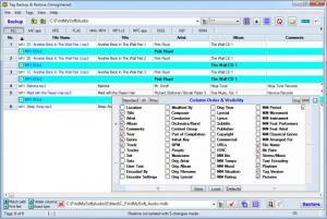Enlarge Tag Backup & Restore Screenshot