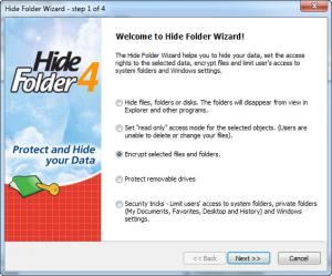 Enlarge Hide Folder Screenshot