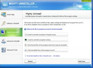 Enlarge Mighty Uninstaller Screenshot