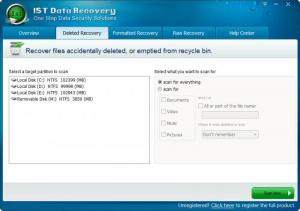 Enlarge IST Data Recovery Screenshot