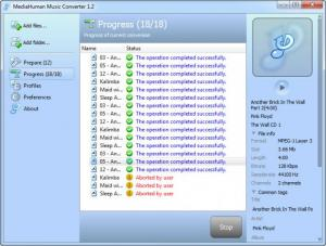 Enlarge MediaHuman Music Converter Screenshot