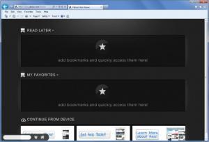 Enlarge Axis Internet Explorer Screenshot