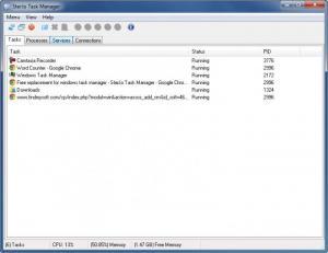 Enlarge SterJo Task Manager Screenshot
