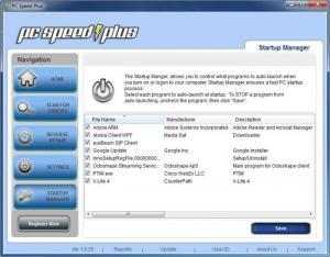 Enlarge PC Speed Plus Screenshot