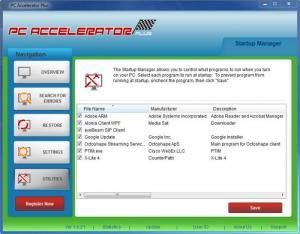 Enlarge PC Accelerator Plus Screenshot