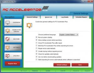 Enlarge PC Accelerator Plus Screenshot