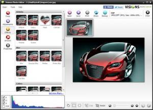 Enlarge Visions Photo Editor Screenshot