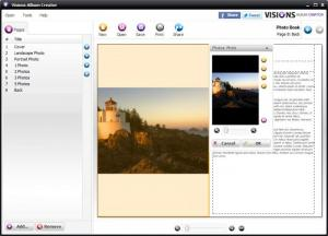 Enlarge Visions Album Creator Screenshot
