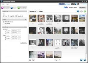 Enlarge Visions Photo Sharing Screenshot