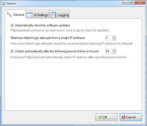 Enlarge RdpGuard Screenshot