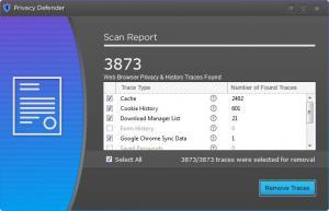 Enlarge Tweaks Privacy Defender Screenshot