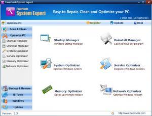 Enlarge Favortools System Expert Screenshot
