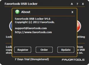 Enlarge Favortools USB Locker Screenshot