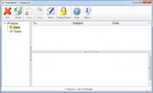 Enlarge FrazzleMail Screenshot