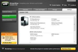 Enlarge DriverHive Screenshot