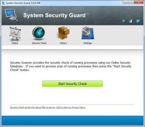 Enlarge System Security Guard Screenshot