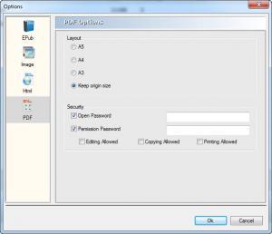 Enlarge PDFMate Free PDF Converter Screenshot