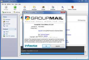 Enlarge GroupMail Screenshot