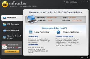 Enlarge miTracker Screenshot