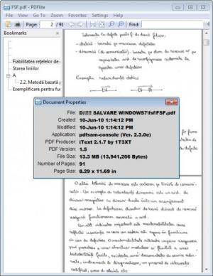 Enlarge PDFlite Screenshot