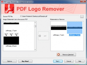 Enlarge PDF Logo Remover Screenshot