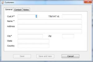 Enlarge Turbo Invoicer Screenshot