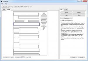 Enlarge PdfMasher Screenshot
