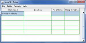 Enlarge Auto Click Robot Screenshot
