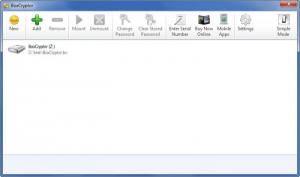 Enlarge BoxCryptor Screenshot