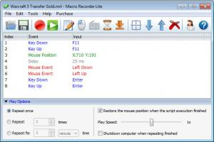 Enlarge Macro Recorder Lite Screenshot