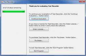 Enlarge Test Evidence Suite Screenshot