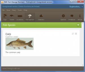 Enlarge FishingScroll Screenshot