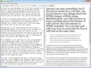 Enlarge MarkdownPad Screenshot