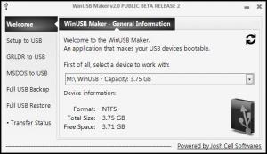 Enlarge WinUSB Maker Screenshot