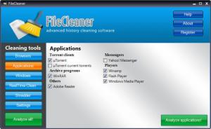 Enlarge File Cleaner Screenshot