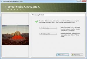 Enlarge Foto-Mosaik-Edda Screenshot